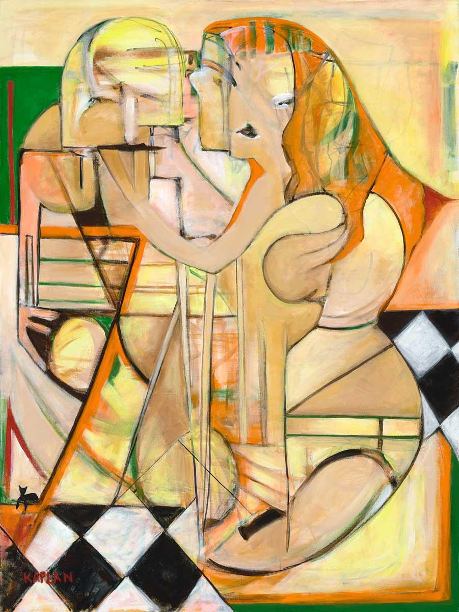 "Spellbound Acrylic On Canvas 30"" X 40"""
