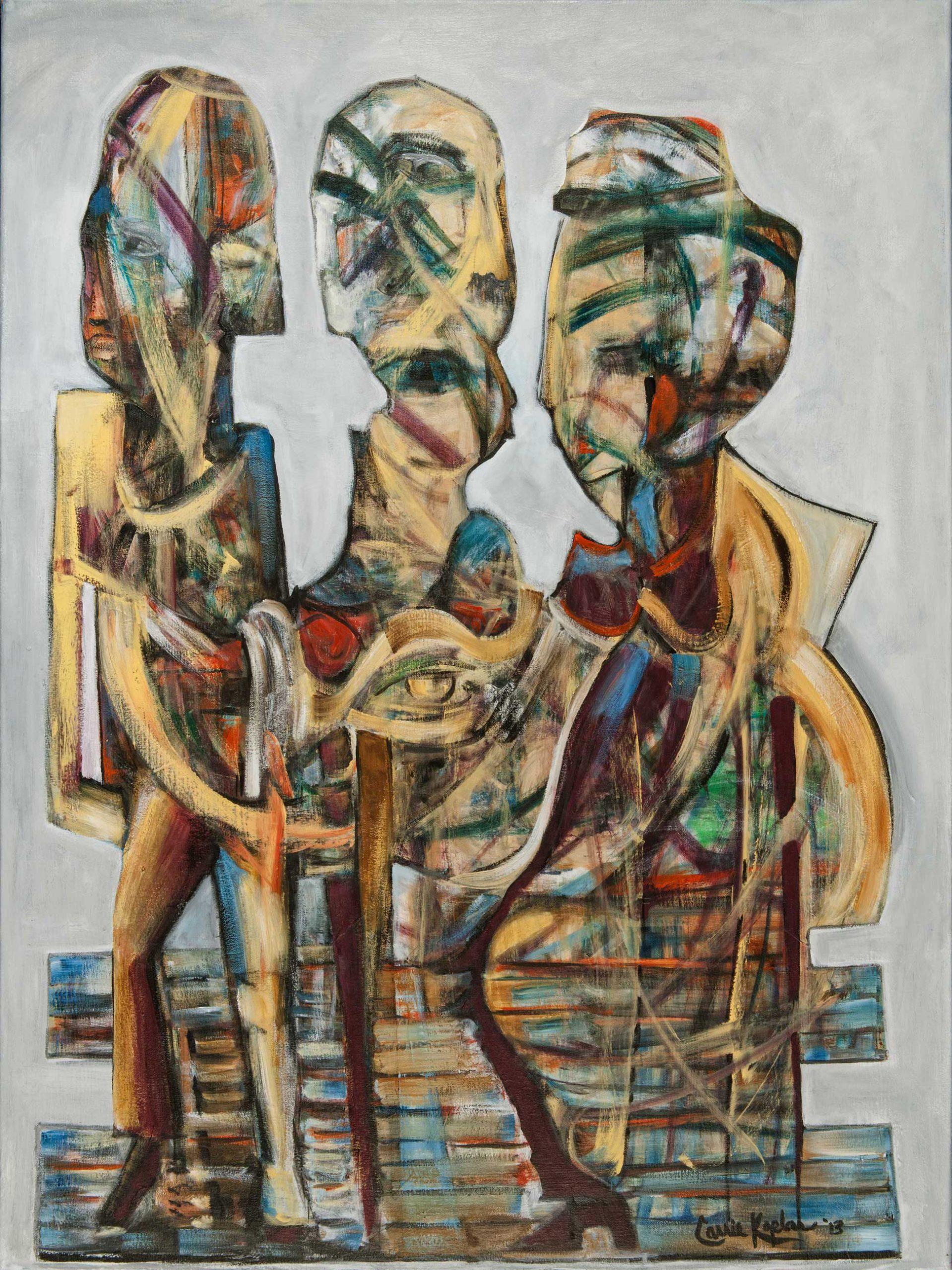 """Trinity Acrylic On Canvas 30"""" X 40"""""""